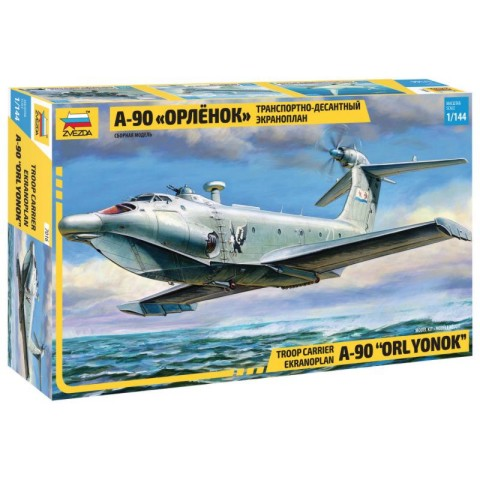 Zvezda 1/144 A90 Orlyonok Troop Carrier Aircraft