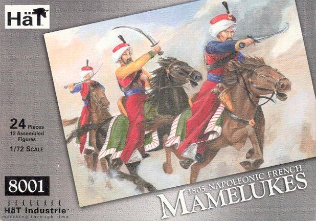 Image 0 of Hat 1/72 1805 Napoleonic French Mamelukes & Horses (24)