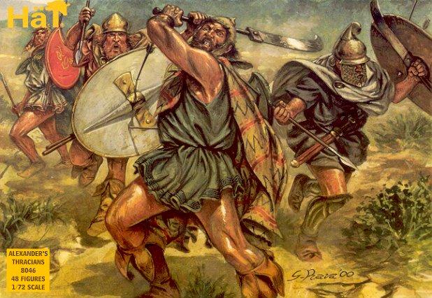 Image 0 of Hat 1/72 Alexander's Thracians (48)