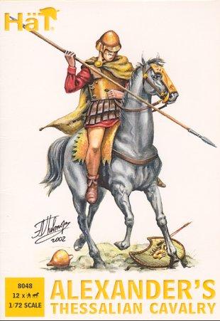 Image 0 of Hat 1/72 Alexander's Thessalian Cavalry & Horses (24)
