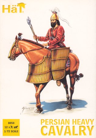 Image 0 of Hat 1/72 Alexander the Great Persian Heavy Cavalry (12)