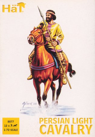 Hat 1/72 Alexander the Great Persian Light Cavalry (12)