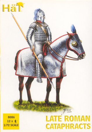 Image 0 of Hat 1/72 Late Roman Cataphracts (Knights) (12 Mtd)
