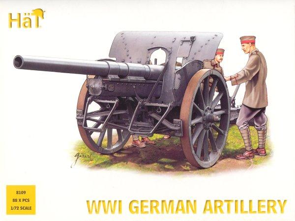 Hat 1/72 WWI German Artillery (88)