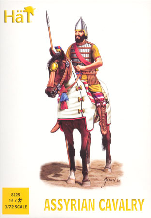 Image 0 of Hat 1/72 Assyrian Cavalry (12 Mtd)