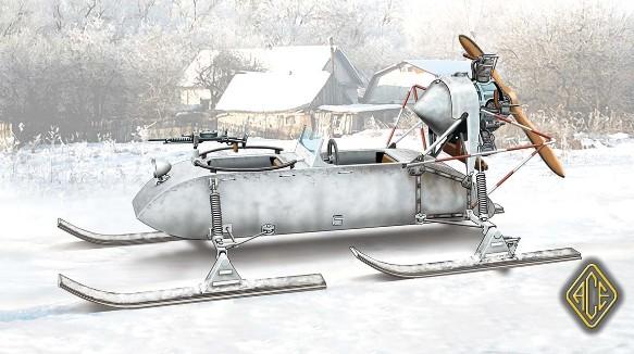 Image 0 of Ace Plastic Models 1/72 RF8 GAZ98K Aerosan