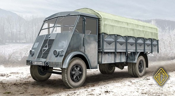 Image 0 of Ace Plastic Models 1/72 French AHR 5t WWII Truck