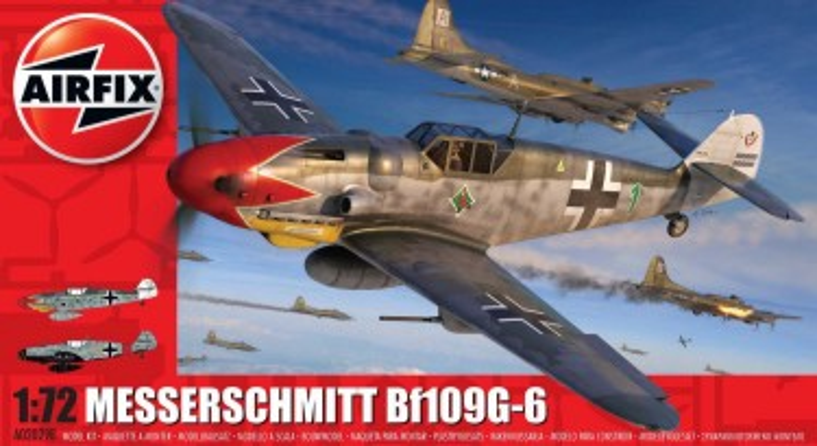Airfix 1/72 Bf109G6 Fighter Model Kit