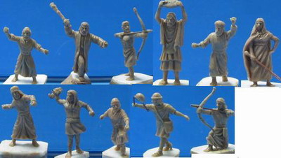 Caesar Miniatures 1/72 Biblical Era Hebrew Warriors (42)