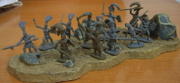 Caesar Miniatures 1/72 Maya Warriors (42)