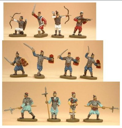 Caesar Miniatures 1/72 Ancient Chinese Ch'in Dynasty Army (42)