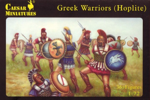 Caesar Miniatures1/72 Greek Warriors (Hoplite) (37)