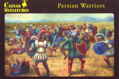Image 0 of Caesar Miniatures1/72 Persian Warriors (42)