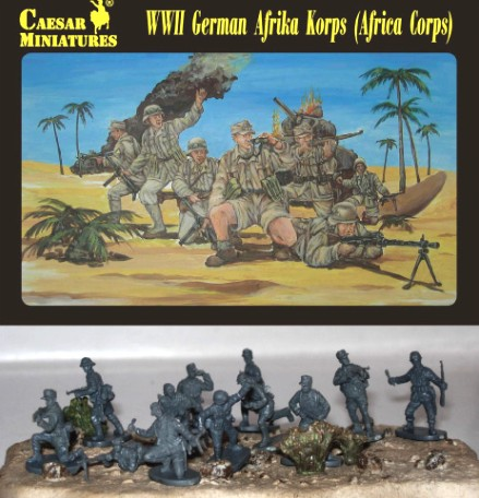Image 0 of Caesar Miniatures1/72 WWII German Afrika Korps (32)