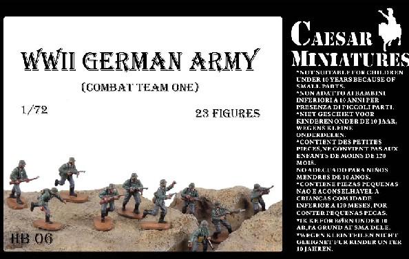 Caesar Miniatures 1/72 WWII German Army Combat Team One (23)