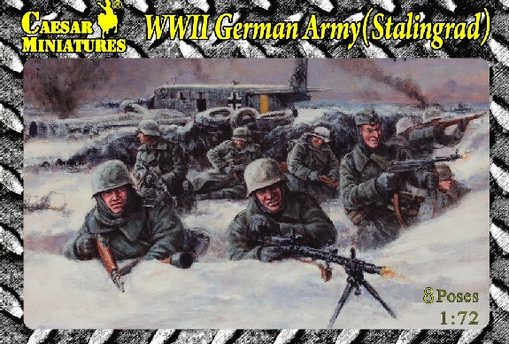 Image 0 of Caesar Miniatures 1/72 WWII German Army Stalingrad (19)