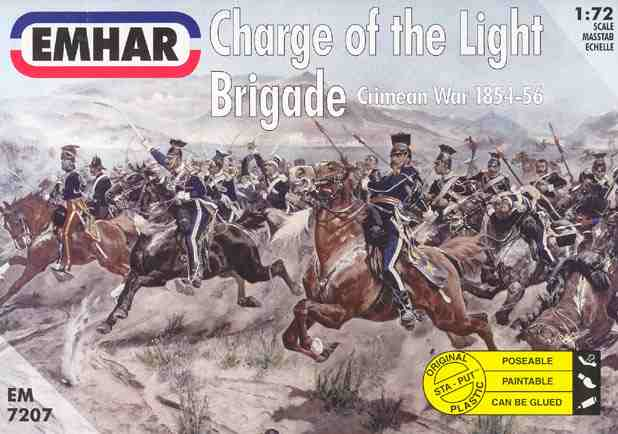 Emhar 1/72 Crimean War 1854-56 Charge of the Light Brigade (18 Mounted)