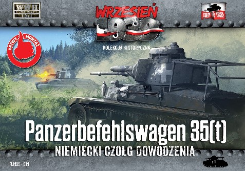 Image 0 of First To Fight Models 1/72 WWII Panzerbefehlswagen 35(t) German Tank