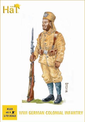 Hat 1/72 WWI German Colonial Infantry (48) (D)