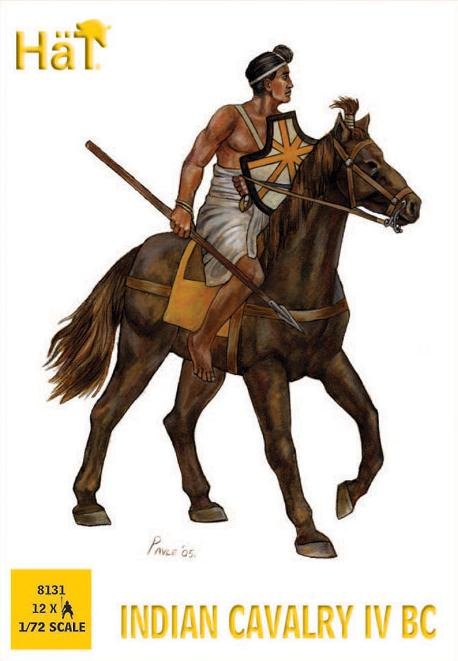 Image 0 of Hat 1/72 Indian Cavalry IV BC (12 Mtd)