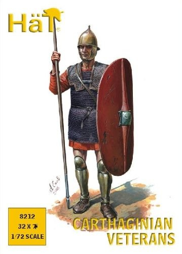 Image 0 of HAT 1/72 Punic War Carthaginian Veteran Spearmen (32)