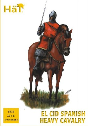 Hat 1/72 El Cid Spanish Heavy Cavalry (12 Mtd)