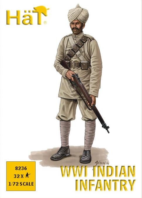 Hat 1/72 WWI Indian Infantry (32)