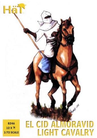 HAT 1/72 El Cid Almoravid Light Cavalry (12 Mtd)