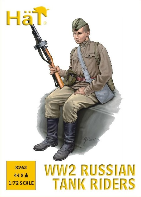 Hat 1/72 WWII Russian Tank Riders (44)