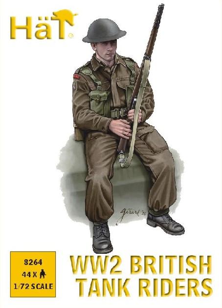 Hat 1/72 WWII British Tank Riders (44)