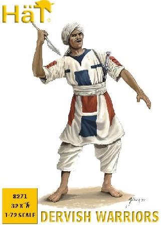 Hat 1/72 Dervish Warriors (32)