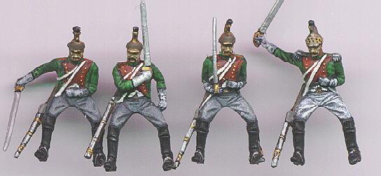 Hat 1/32 Napoleonic French Dragoons (8 Mtd)