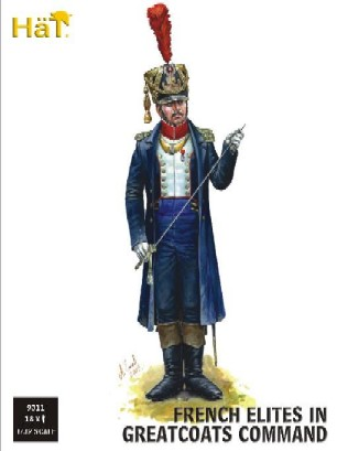 Hat 1/32 Napoleonic French Elites Command in Greatcoats (18)