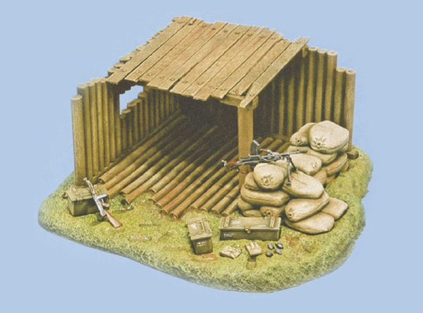Image 0 of Italeri 1/35 Command Post