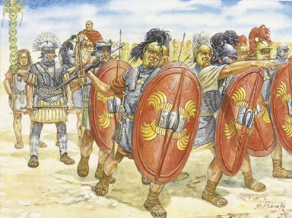 Italeri 1/72 I-II Century BC: Roman Infantry (35)