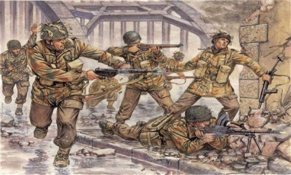 Italeri 1/72 British Paratroopers Red Devils Set 6034