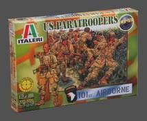 Image 0 of Italeri 1/72 WWII US Paratroopers 101st Airborne Division (50)