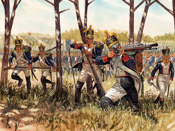 Italeri 1/72 Napoleonic War: French Infantry (48)