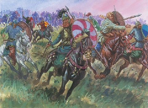 Italeri 1/72 Late Roman Gothian Cavalry (15)