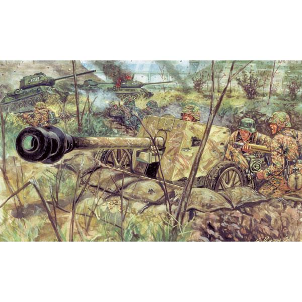 Image 0 of Italeri 1/32 WWII ZIS 3 Anti-Tank Gun w/6 Russian Soldiers