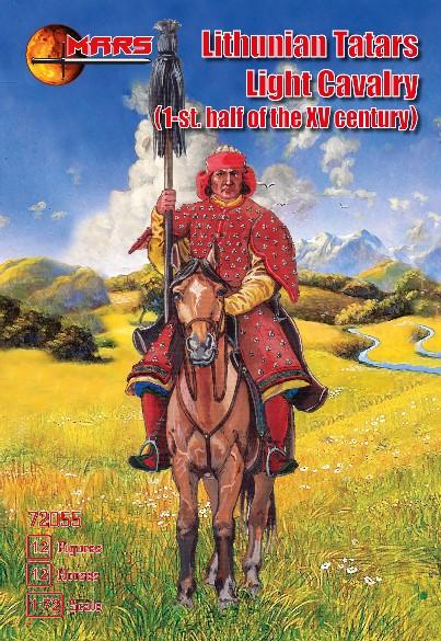 Mars Figures 1/72 1st Half XV Century Lithuanian Tartars Light Cavalry (12 Mtd)
