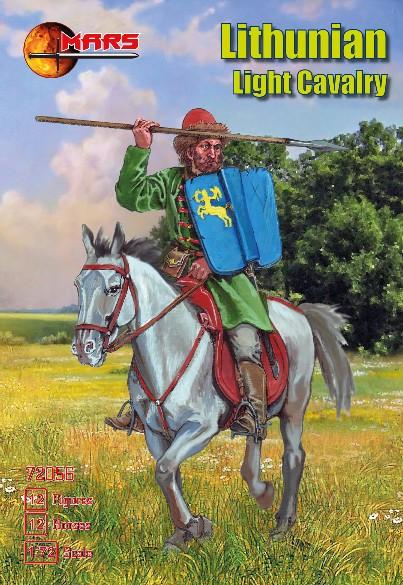 Mars Figures 1/72 1st Half XV Century Lithuanian Light Cavalry (12 Mtd)