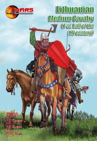 Mars Figures 1/72 1st Half XV Century Lithuanian Medium Cavalry (12 Mtd)