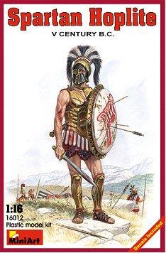 Miniart Models 1/16 V Century BC Spartan Hoplite