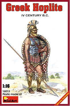 Image 0 of Miniart Models 1/16 IV Century BC Greek Hoplite