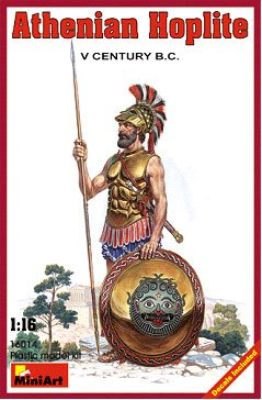 Image 0 of Miniart Models 1/16 V Century BC Athenian Hoplite