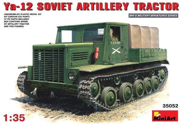Image 0 of Miniart Models 1/35 Ya12 Early Prod Soviet Artillery Tractor