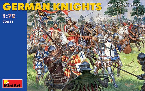 Image 0 of Miniart Models 1/72 XV Century German Knights (48)