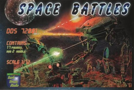 Orion Figures 1/72 Dark Dream Studio: Space Battles Walker Warmachine Cyborg Lon