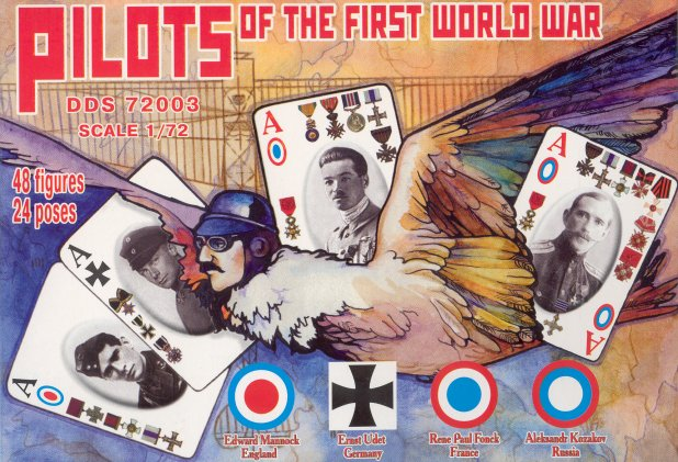 Orion Figures 1/72 Dark Dream Studio: Pilots of WWI - France, Germany, Russia &